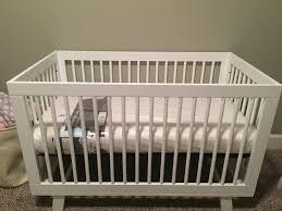 Dex Bed Rail by Naturepedic Lightweight Organic Cotton Classic 2 Stage Crib