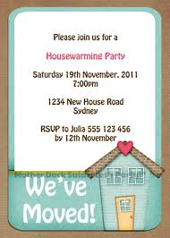 House Warming Party Invitations Free Invitation Templates