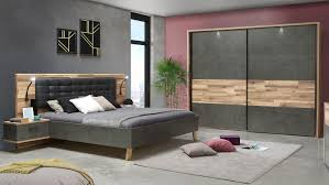 schlafzimmer 2 ricciano komplett eiche beton grau 4 teilig