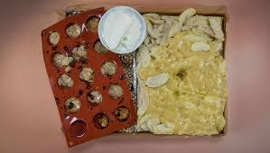 apfel marzipan kuchen mit florentinern