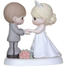 Precious Moments Wedding Gifts From This Day Forward Bisque Porcelain Figurine