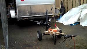 Trailer Mover /electric Drill Dolly - YouTube