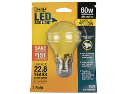 feit non dimmable 5 watt a19 led bug light a19 bug led bulbs
