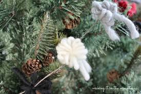 Silvertip Christmas Tree by Rustic Christmas Tree Garland Making It In The Mountains