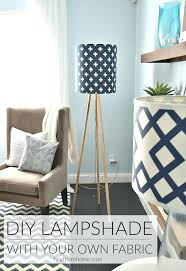 Diy Lamp Shade Using Your Own Fabric Lampshade Frame