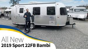 100 Pictures Of Airstream Trailers 2019 Sport 22FB Bambi Walk Through Small Light Tiny Size Travel Trailer
