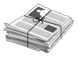 Free Clip Art Of Newspaper Clipart 2761 Best