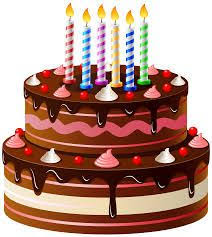 Birthday Cake Transparent Clip Art Image Clipart Cakes