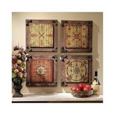 Floral Wall Art Wood Panels Rustic Kitchen Vintage Antique Hanging Home Decor RusticPrimitive