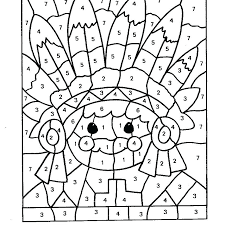 Halloween Color By Number Printable Free Coloring Pages Adults Numbers For Teenagers Difficult