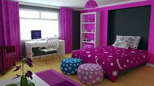 Inspiring Dark Purple Bedroom For Teenage Girls As Modern Home Interior Design Page