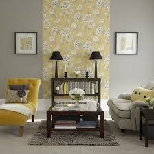 Butter Yellow Gray Wood Another Restful Yet Welcoming Space Instead Mustard Living RoomsGrey