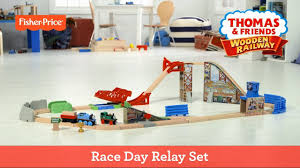 Trackmaster Tidmouth Sheds Toys R Us by Thomas U0026 Friends Wooden Railway Race Day Relay Set Fisher Price