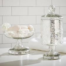 Pottery Barn Sea Glass Bathroom Accessories by Blue Beach Glass Bath Accessories Pottery Barn