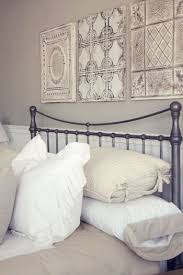 Tin Panels Above Bed They Can Also Be Decorative Pieces On Their Own Bedroom Wall