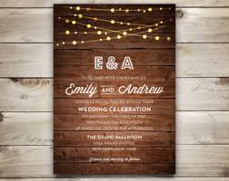String Lights Invite