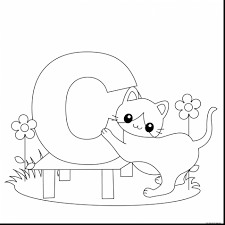 Excellent Animal Alphabet Letter Coloring Pages With Abc And Pdf