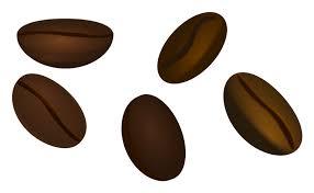 Single Clipart Coffee Bean 4