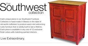 Rustic Southwest Reclaimed Wood Furniture