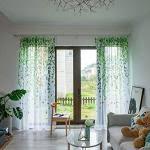 moderne gardinen mit kräuselband transparent günstig