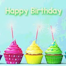 Sparkler Cupcakes For Birthday