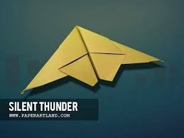 Fighter Jet Paper Airplane How To Make