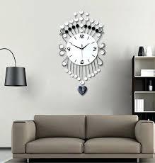 Wall Clocks For Living Room Perfect Decoration Clever Design Big Clock