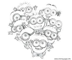 Remarkable Minions Coloring Pages To Print Online Chic Despicable Me Kids Colouring