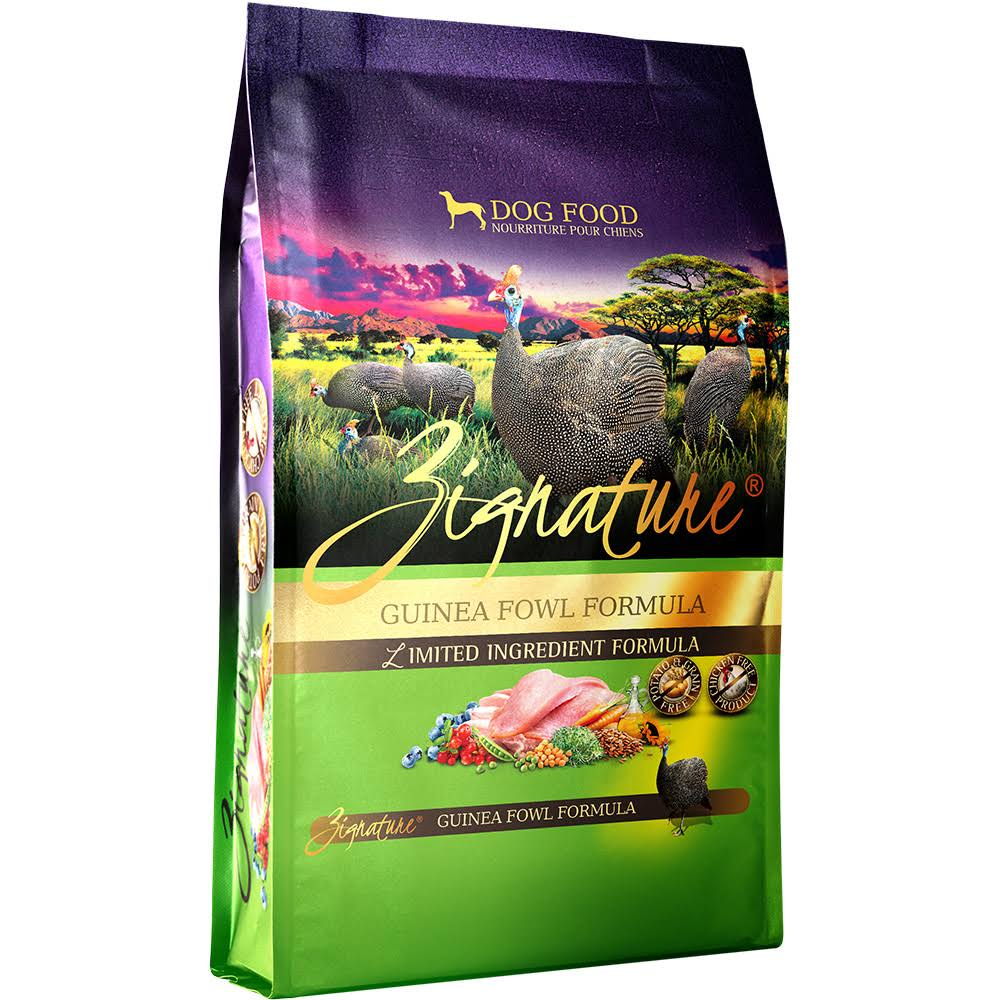 Zignature Limited Ingredient Dry Dog Food Guinea Fowl 27 lb