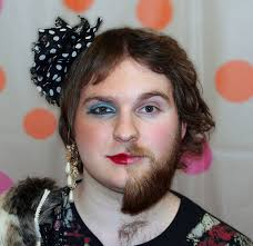 Crossdressed For Halloween by What Is Most Awkward