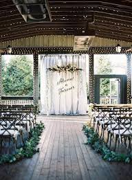 32 Pictures Of The Best Indoor Wedding Venues Ceremony BackdropWedding