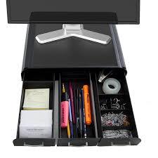 Imac Monitor Desk Mount by Amazon Com Mind Reader U0027 Perch U0027 Pc Laptop Imac Monitor Stand And
