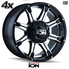 100 20 Inch Truck Rims 4 Ion 196 X9 8170 Black Ofst0mm Inch 9 Wheels Off