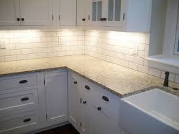 6 inch tile backsplash painting formica cabinets before and after