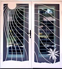 Patio White Sliding Door Security Bar by 28 Best Security Doors Images On Pinterest Glass Doors Sliding