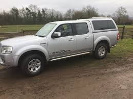 FORD RANGER THUNDER XLT DOUBLE CAB PICKUP 4x4 2.5 TDCI 2007 SILVER ...