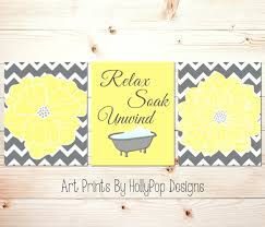 Yellow Gray And Teal Bathroom by Wall Arts Yellow Gray And Teal Wall Art Jungle Wall Art Decals