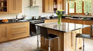 modern kitchen with brown cabinets ifresh design
