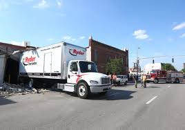 100 Truck Rental Michigan Wall Collapses Onto Truck On North Street Toledo Blade