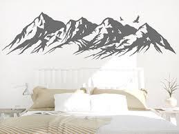 wandtattoo berge bergpanoramas als tolle wanddeko