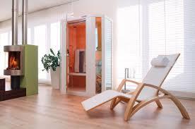 die bankhofer 2 deluxe infrarotkabine im wohnzimmer