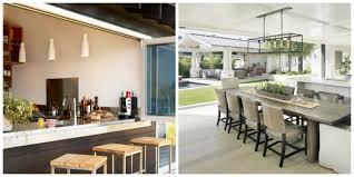 ouverture cuisine sur salon aménagemez une cuisine ouverte sur l extérieur ideeco