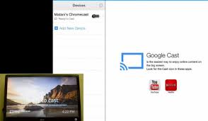 chromecast app for IPAD Iphone IOS with setup guide