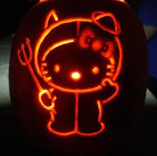 Ariel Flounder Pumpkin Stencil by My Hello Kitty Pumpkin Holiday Pinterest Hello Kitty Pumpkin