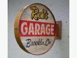 Hanging Workshop Personalized Sign Personalized Garage Vintage