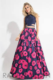 copy of rachel allan 7536 navy fuchsia open back prom dress prom