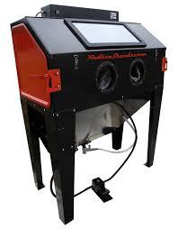Abrasive Blast Cabinet Vacuum by New Redline Re48 Elite Series Abrasive Sand Blaster Cabinet Glass