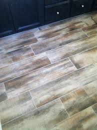 Qep Tile Saw 60020 by Wood Tile In Our Bathroom Antique Amaretto Our New Home