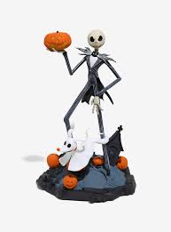 Nightmare Before Christmas Bath Toy Set by Finders Keypers The Nightmare Before Christmas Jack U0026 Zero Statue
