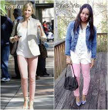 style me friday pink jeans baby shopaholic
